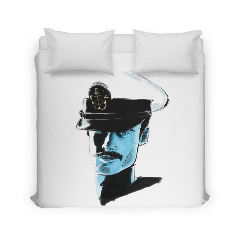 Captain Home Duvet by Ego Rodriguez