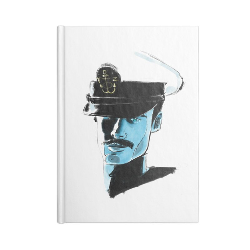Captain Accessories Notebook by Ego Rodriguez