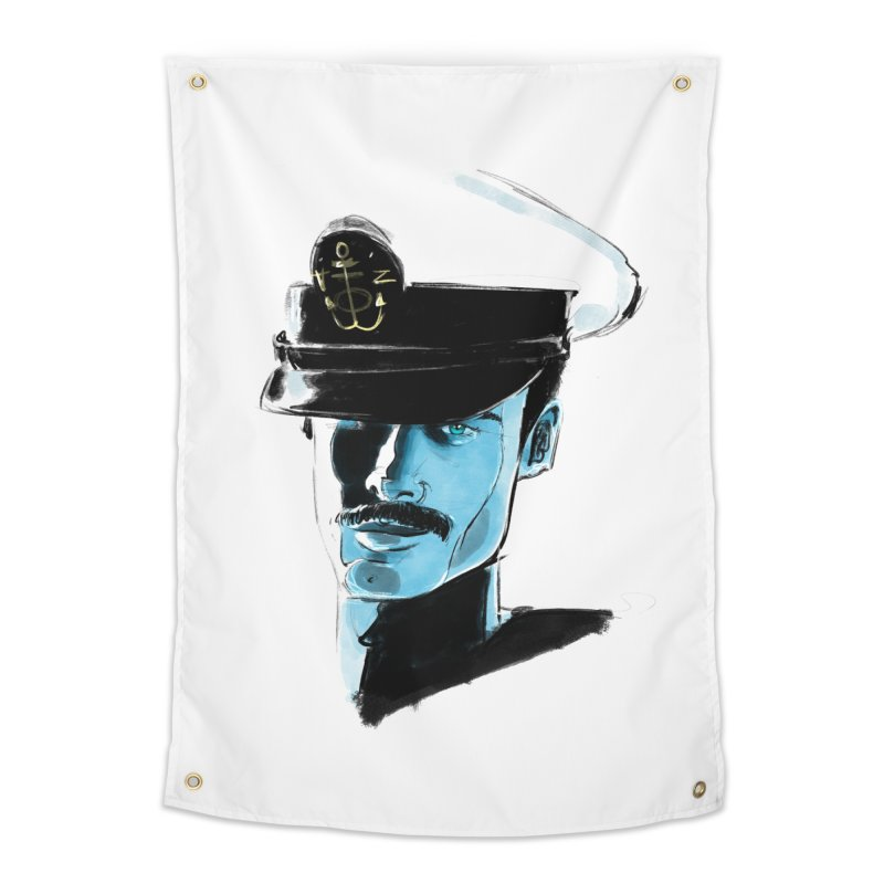 Captain Home Tapestry by Ego Rodriguez