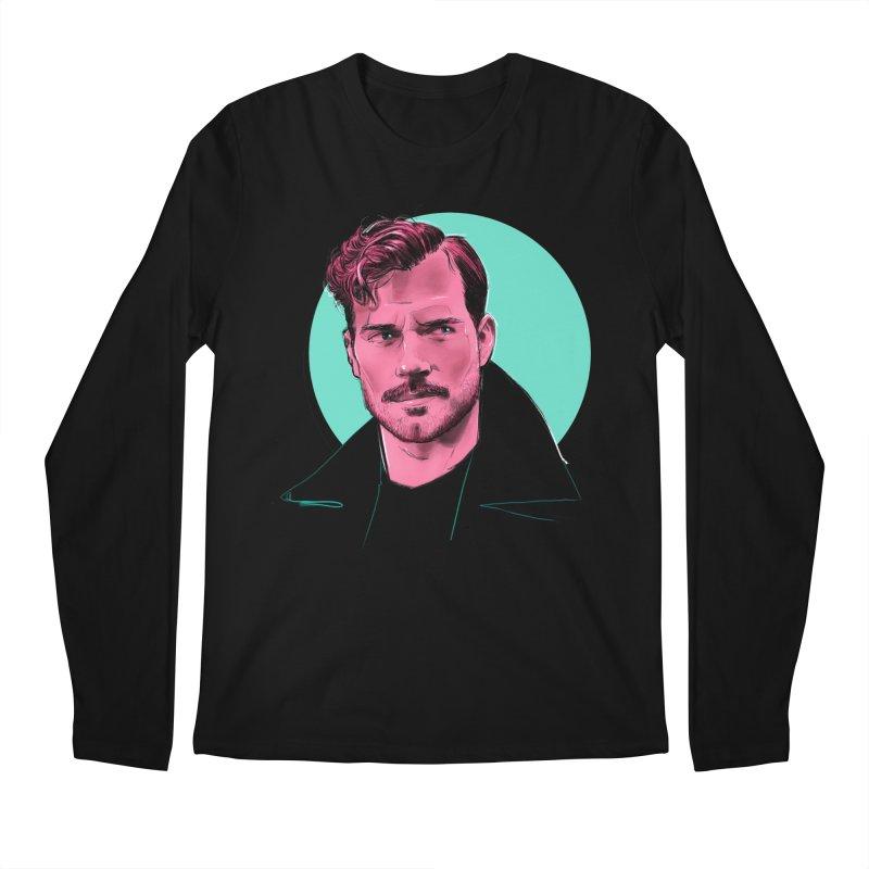 Henry Men's Regular Longsleeve T-Shirt by Ego Rodriguez
