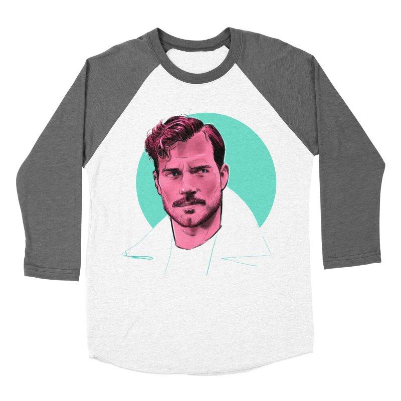 Henry Men's Baseball Triblend Longsleeve T-Shirt by Ego Rodriguez