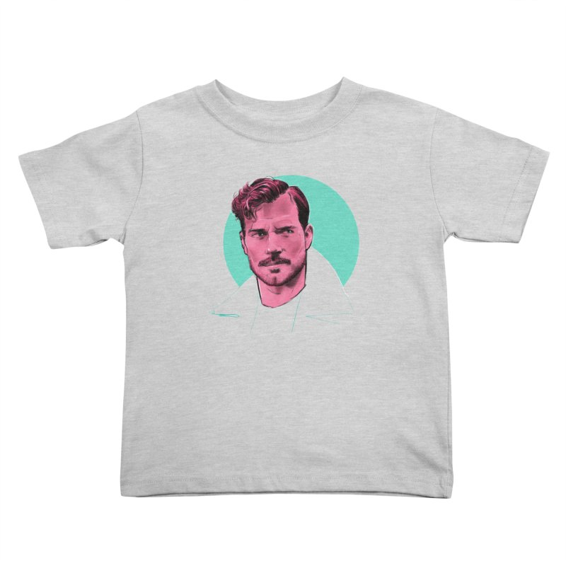 Henry Kids Toddler T-Shirt by Ego Rodriguez