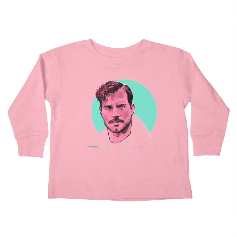 Henry Kids Toddler Longsleeve T-Shirt by Ego Rodriguez