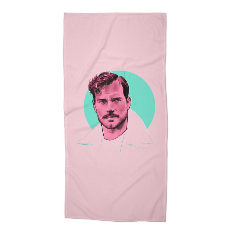 Henry Accessories Beach Towel by Ego Rodriguez