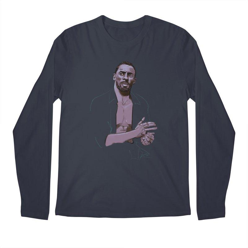 Idris Men's Regular Longsleeve T-Shirt by Ego Rodriguez