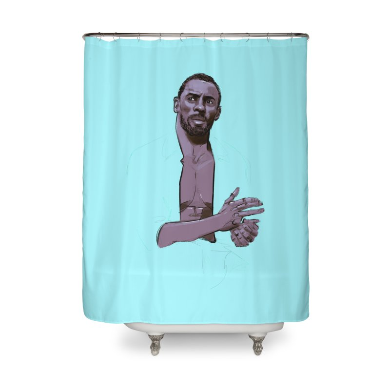 Idris Home Shower Curtain by Ego Rodriguez
