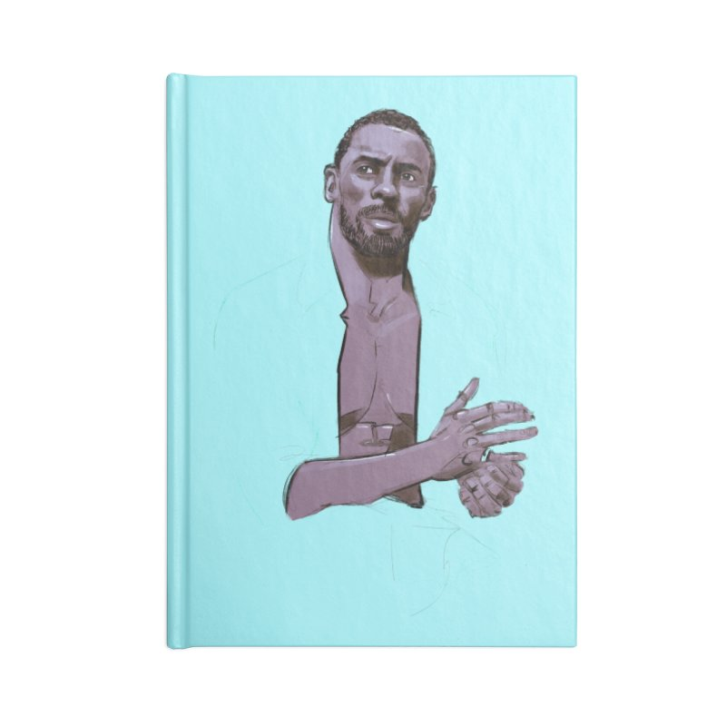Idris Accessories Notebook by Ego Rodriguez