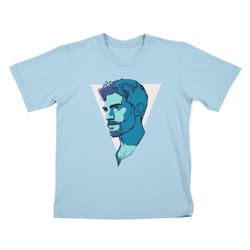 Jamie Kids T-Shirt by Ego Rodriguez