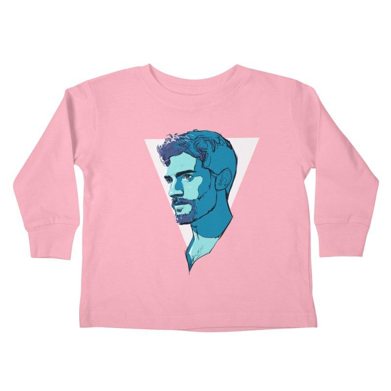 Jamie Kids Toddler Longsleeve T-Shirt by Ego Rodriguez