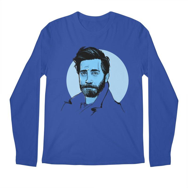 Jake Men's Regular Longsleeve T-Shirt by Ego Rodriguez