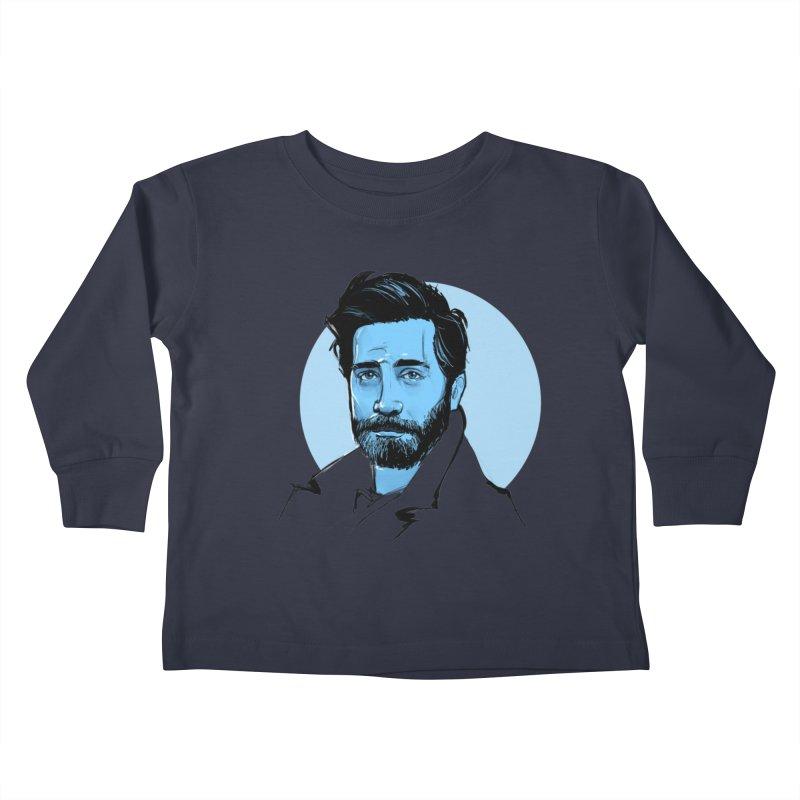 Jake Kids Toddler Longsleeve T-Shirt by Ego Rodriguez