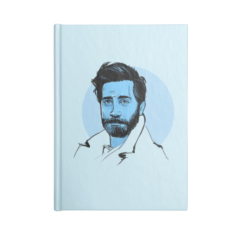 Jake Accessories Notebook by Ego Rodriguez
