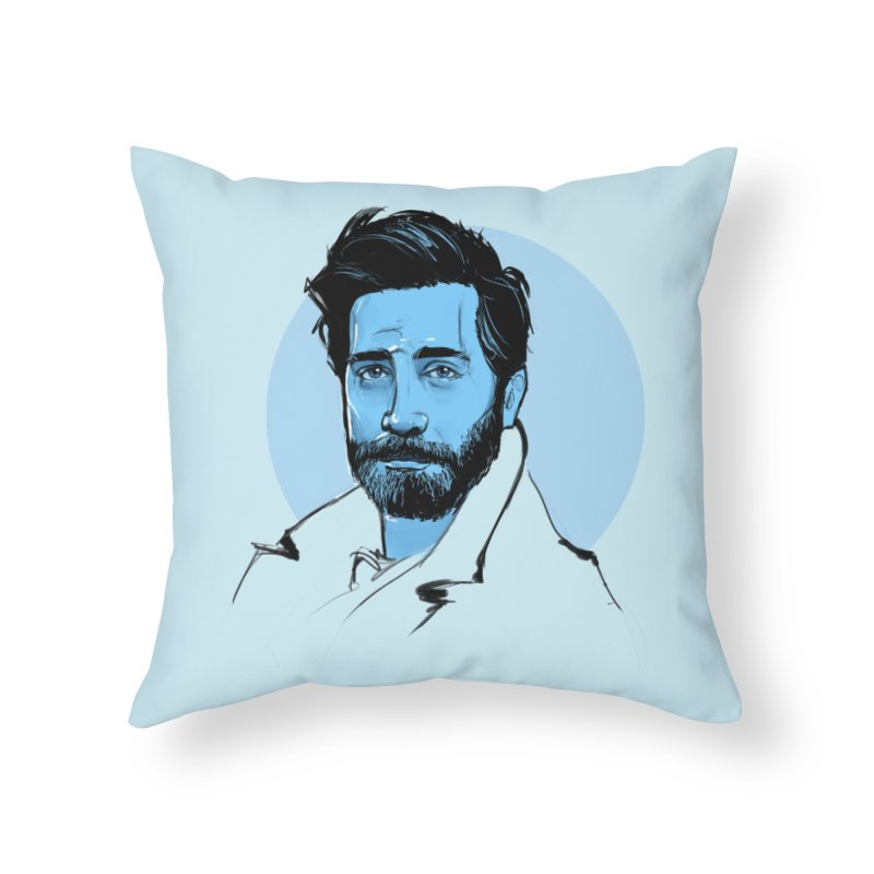 Jake Home Throw Pillow by Ego Rodriguez
