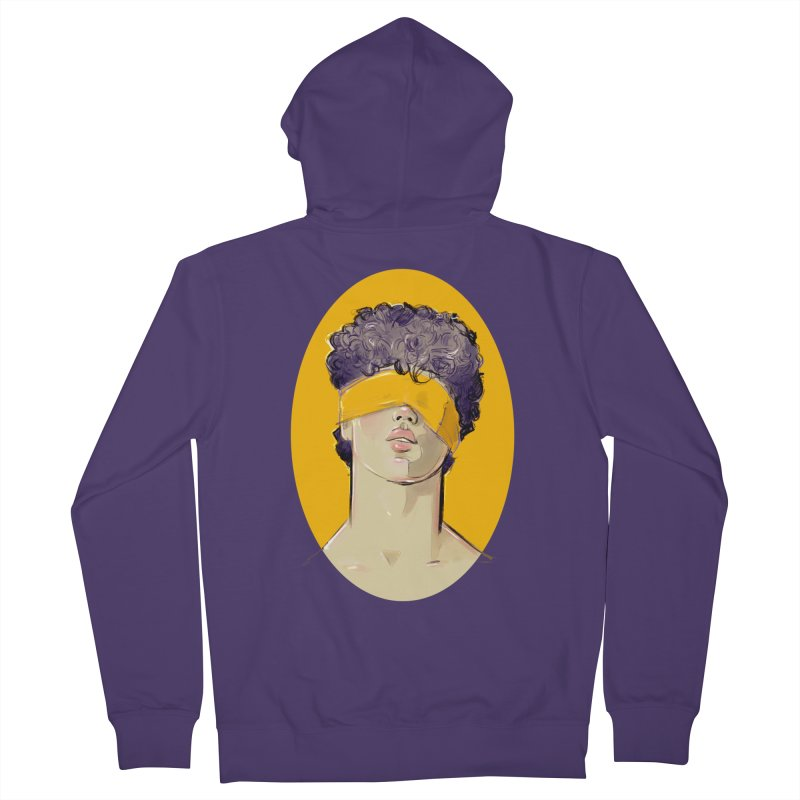 Phillipe Women's French Terry Zip-Up Hoody by Ego Rodriguez
