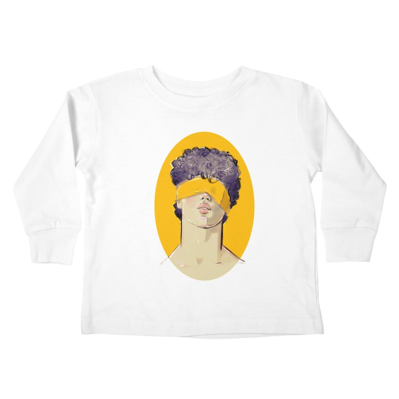Phillipe Kids Toddler Longsleeve T-Shirt by Ego Rodriguez