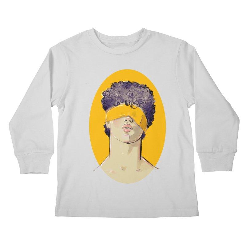 Phillipe Kids Longsleeve T-Shirt by Ego Rodriguez