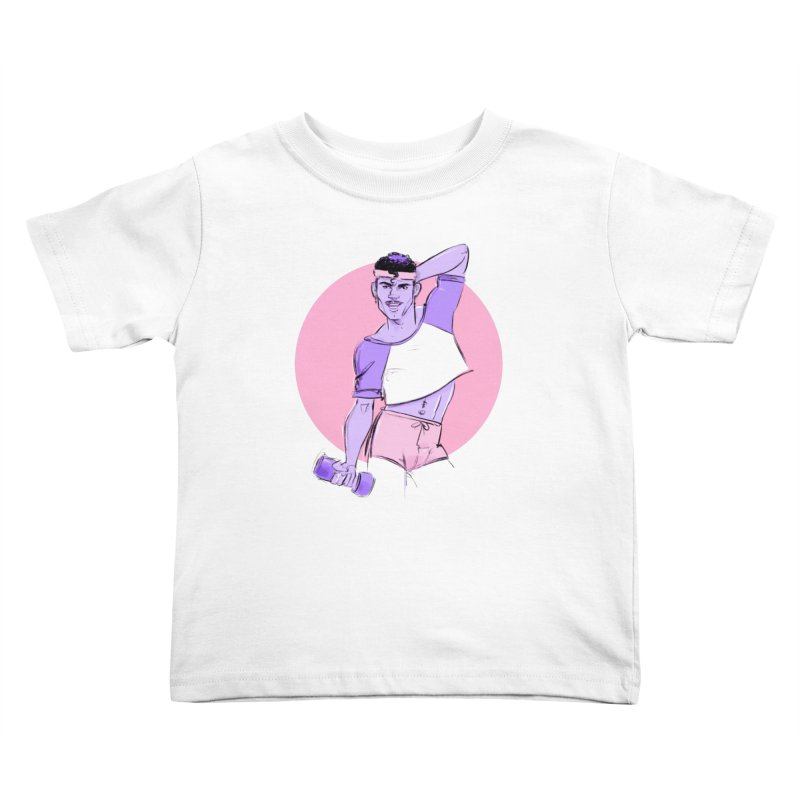 Raul Kids Toddler T-Shirt by Ego Rodriguez