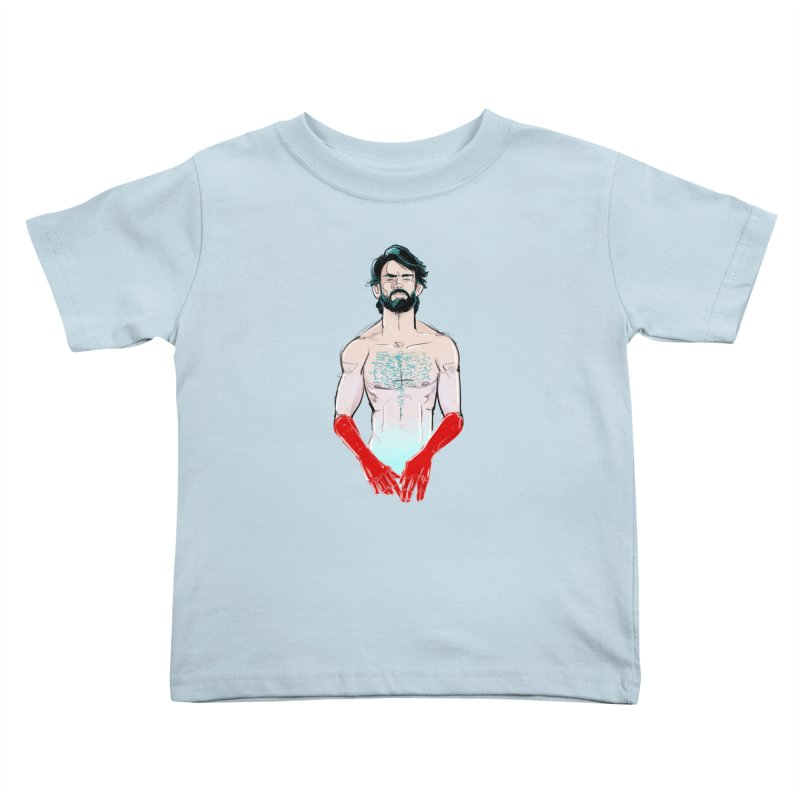 Redhands Kids Toddler T-Shirt by Ego Rodriguez
