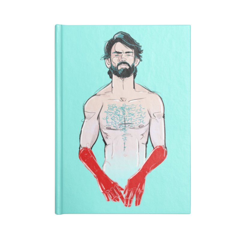 Redhands Accessories Notebook by Ego Rodriguez