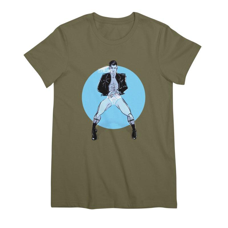 RocknRoll Women's Premium T-Shirt by Ego Rodriguez