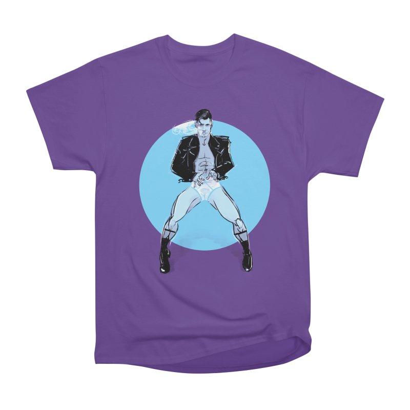 RocknRoll Men's Heavyweight T-Shirt by Ego Rodriguez