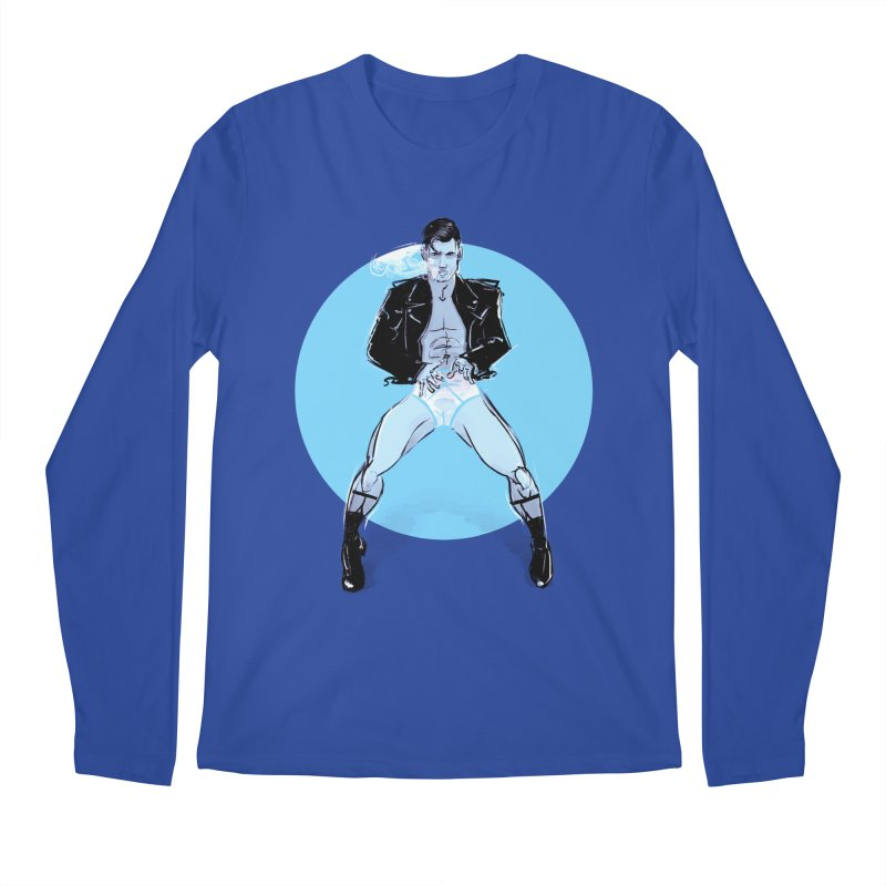 RocknRoll Men's Regular Longsleeve T-Shirt by Ego Rodriguez