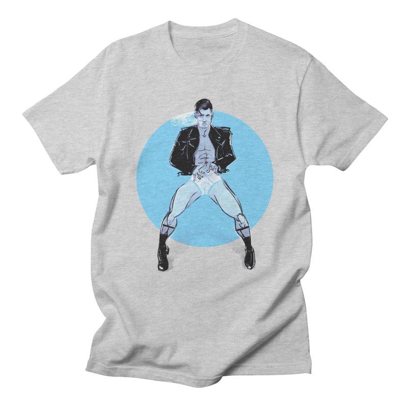 RocknRoll Men's Regular T-Shirt by Ego Rodriguez
