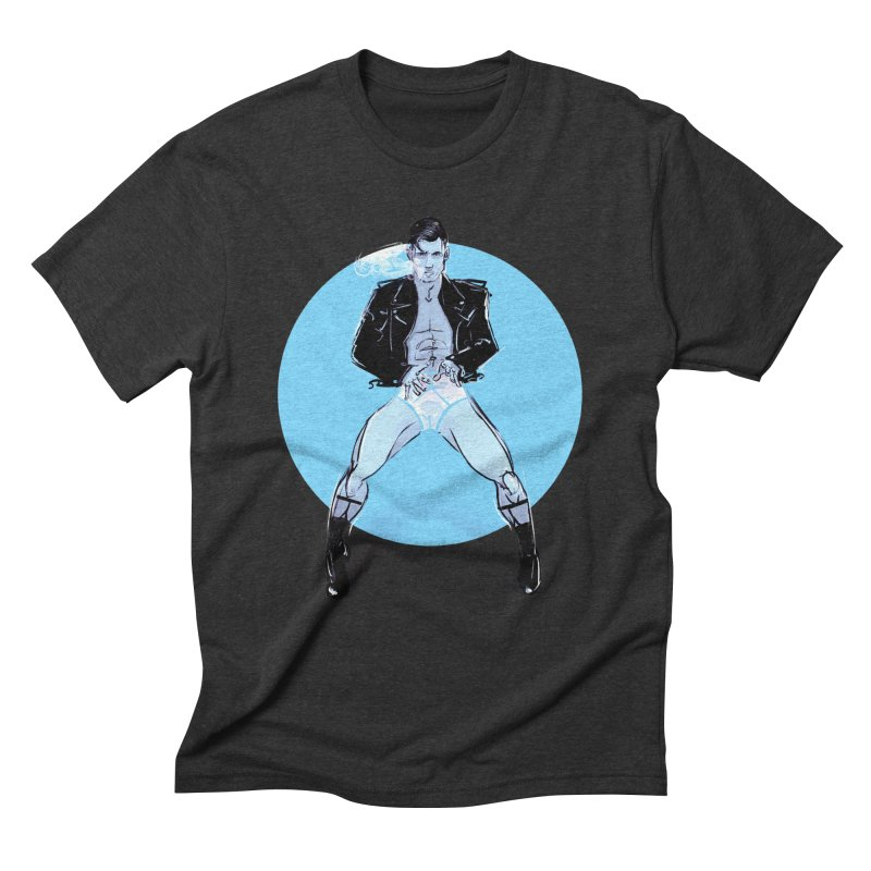RocknRoll Men's Triblend T-Shirt by Ego Rodriguez