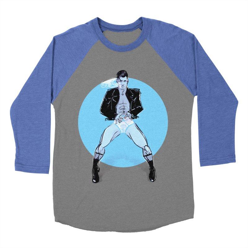 RocknRoll Women's Baseball Triblend Longsleeve T-Shirt by Ego Rodriguez