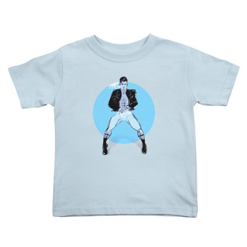 RocknRoll Kids Toddler T-Shirt by Ego Rodriguez