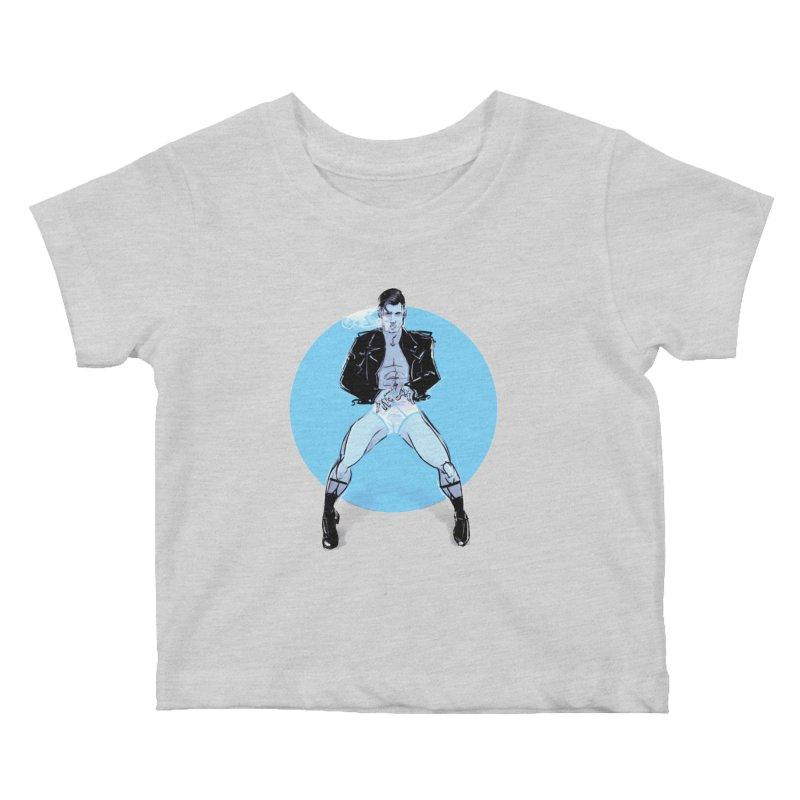 RocknRoll Kids Baby T-Shirt by Ego Rodriguez