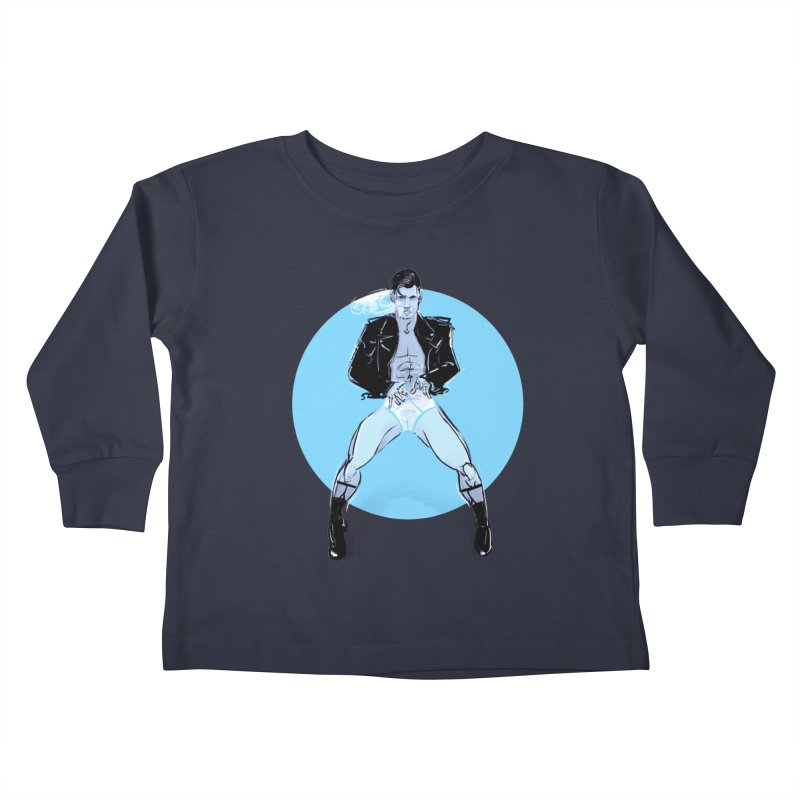 RocknRoll Kids Toddler Longsleeve T-Shirt by Ego Rodriguez