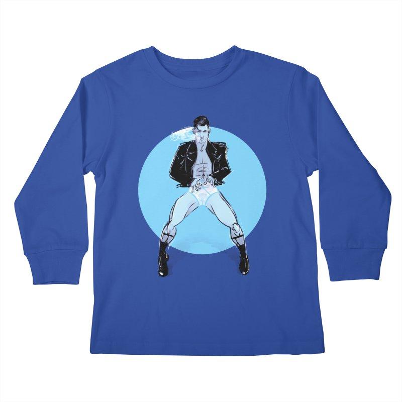 RocknRoll Kids Longsleeve T-Shirt by Ego Rodriguez