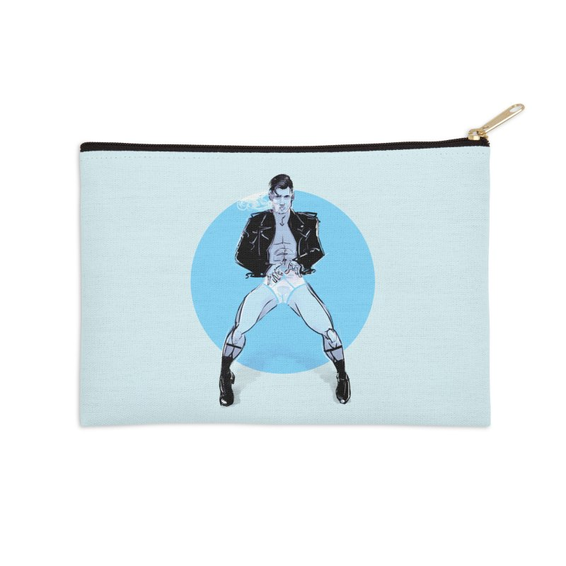 RocknRoll Accessories Zip Pouch by Ego Rodriguez