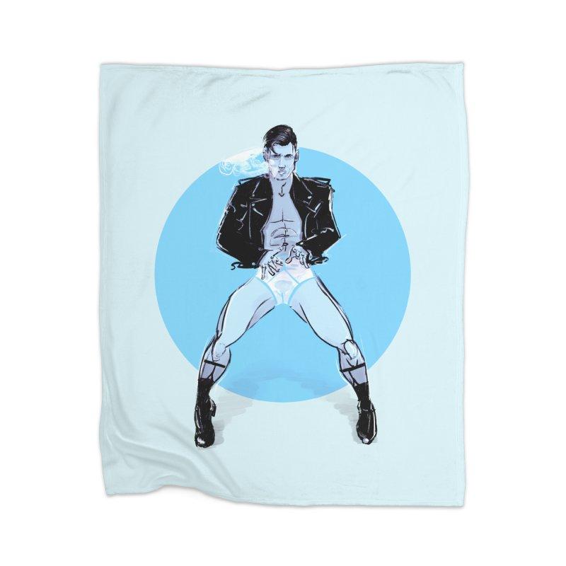 RocknRoll Home Blanket by Ego Rodriguez