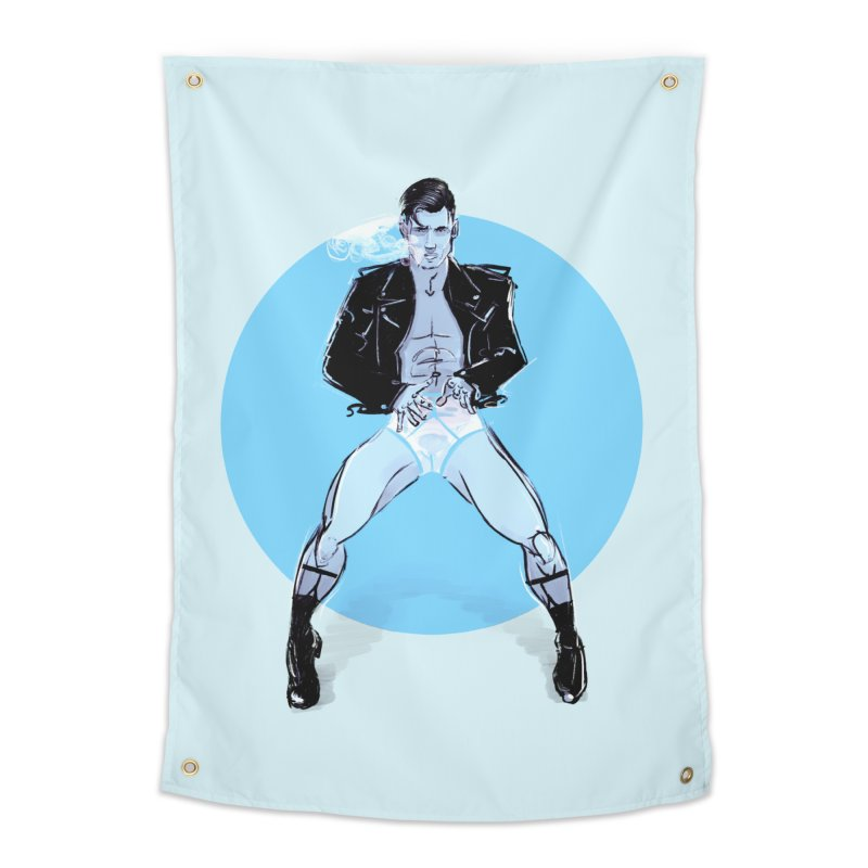 RocknRoll Home Tapestry by Ego Rodriguez