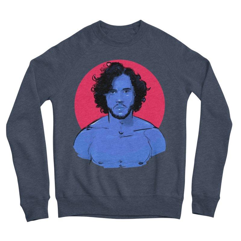 Kit Men's Sponge Fleece Sweatshirt by Ego Rodriguez