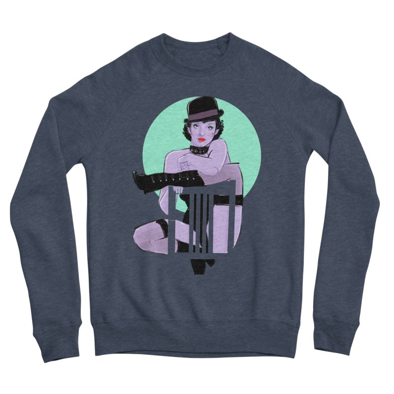 Sally Bowles Men's Sponge Fleece Sweatshirt by Ego Rodriguez