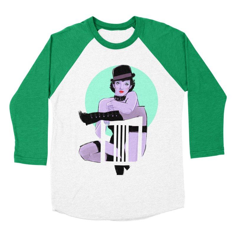 Sally Bowles Men's Baseball Triblend Longsleeve T-Shirt by Ego Rodriguez