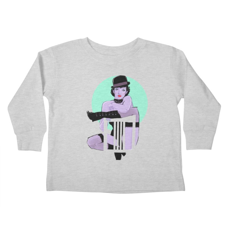 Sally Bowles Kids Toddler Longsleeve T-Shirt by Ego Rodriguez