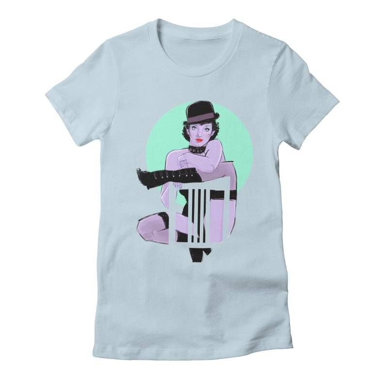Sally Bowles Women's Fitted T-Shirt by Ego Rodriguez