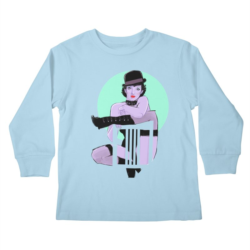 Sally Bowles Kids Longsleeve T-Shirt by Ego Rodriguez