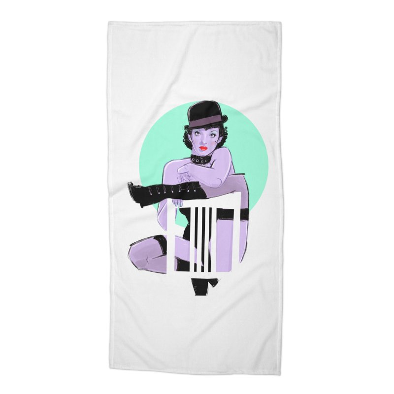 Sally Bowles Accessories Beach Towel by Ego Rodriguez