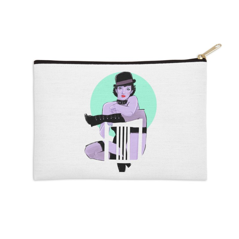 Sally Bowles Accessories Zip Pouch by Ego Rodriguez