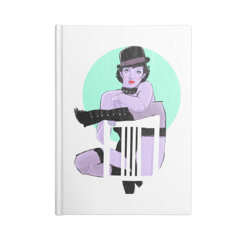 Sally Bowles Accessories Notebook by Ego Rodriguez