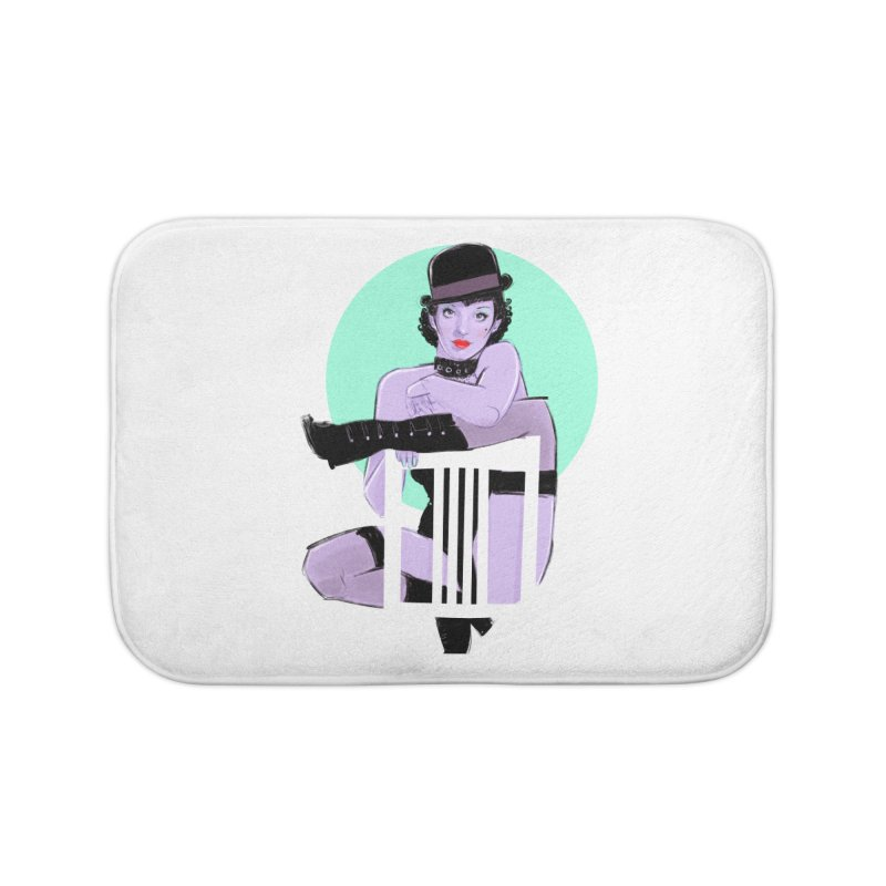 Sally Bowles Home Bath Mat by Ego Rodriguez