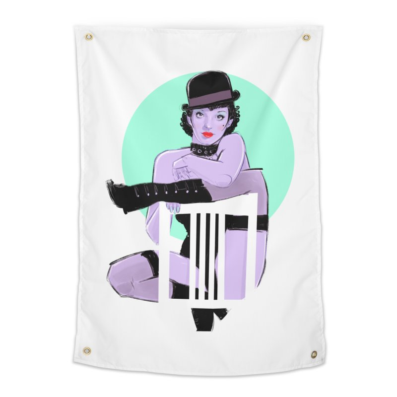 Sally Bowles Home Tapestry by Ego Rodriguez