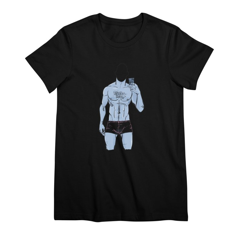 Template Women's Premium T-Shirt by Ego Rodriguez