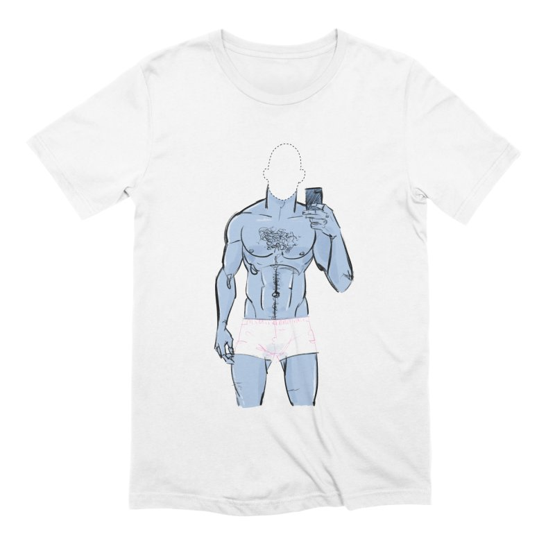 Template Men's Extra Soft T-Shirt by Ego Rodriguez