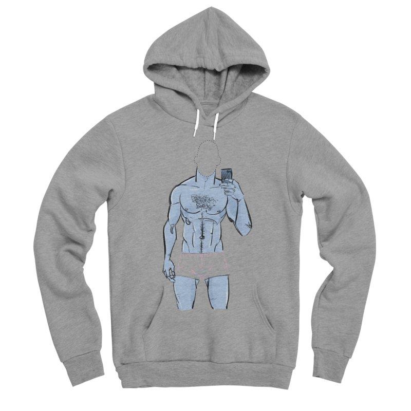 Template Men's Sponge Fleece Pullover Hoody by Ego Rodriguez